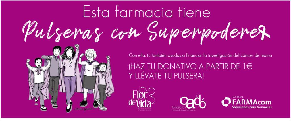 Farmacias solidarias, Pulseras con Superpoderes